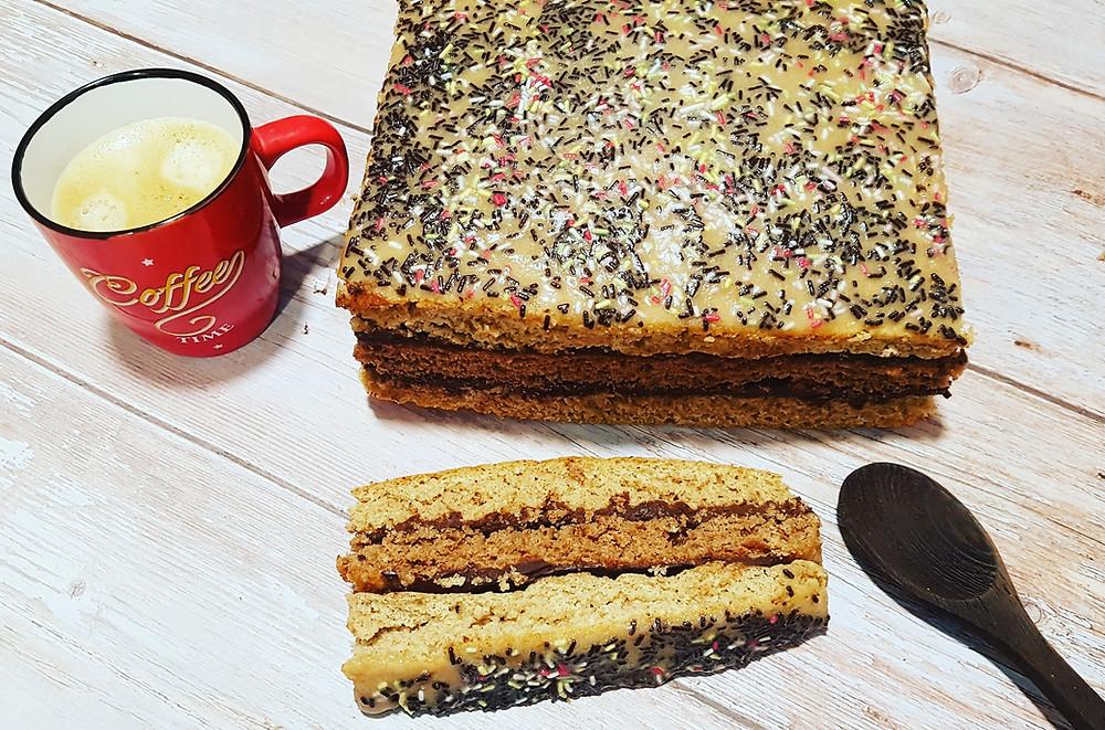 gâteau rustique petit épeautre napolitain vegan sans plv sans lait fait maison anniversaire goûter enfant