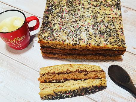 Gâteau rustique à l'épeautre façon napolitain