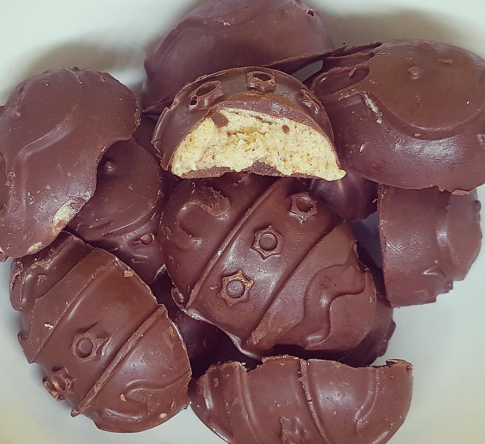 oeufs chocolat amandes vegan ghee pâques enfant kéto