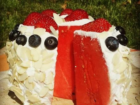 Gâteau de pastèque