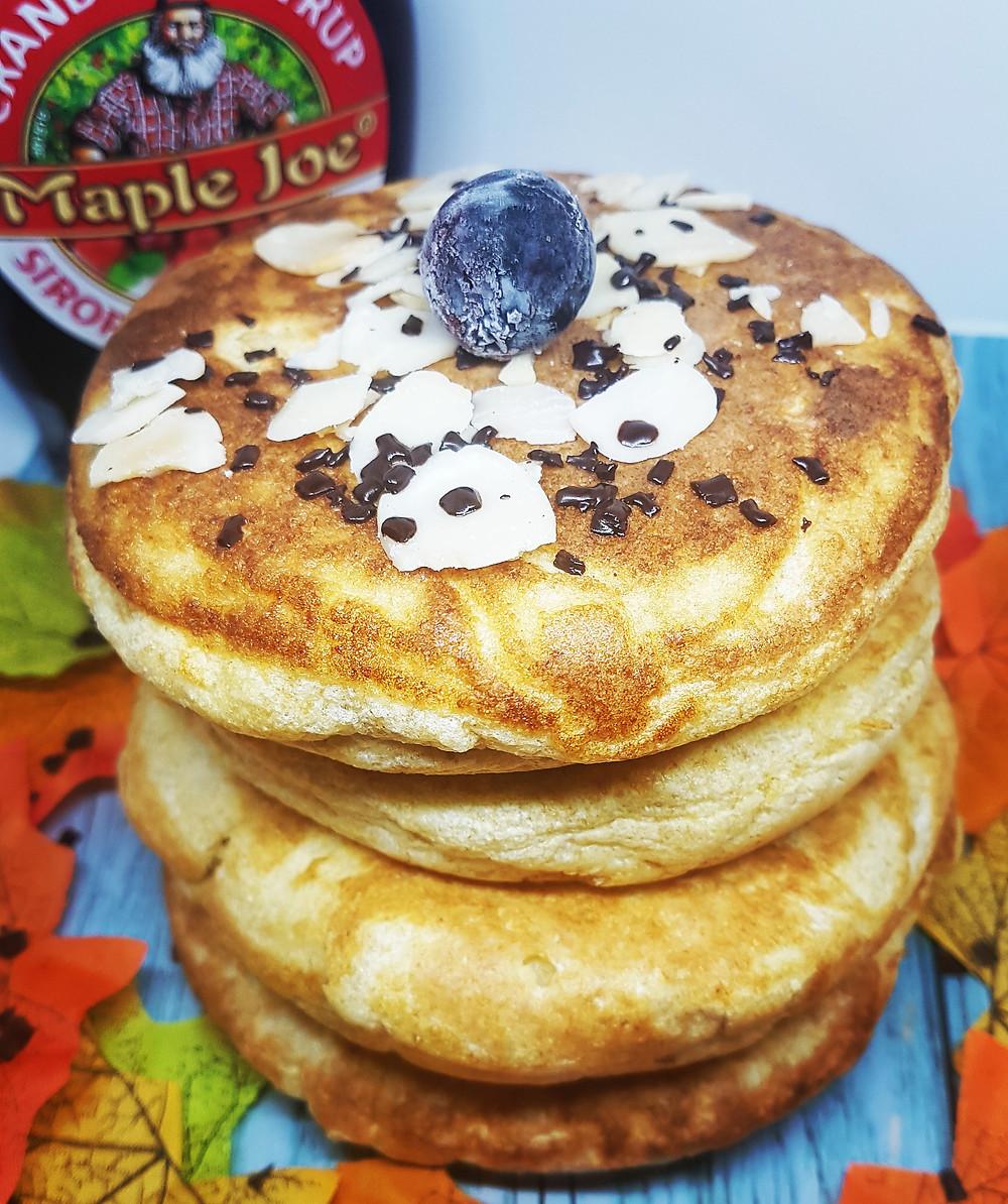 pancake XXL fluffy moelleux sans plv sans lait gouter petit dejeuner