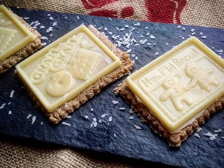 P'tits biscrus chocolat blanc & coco (vegan)