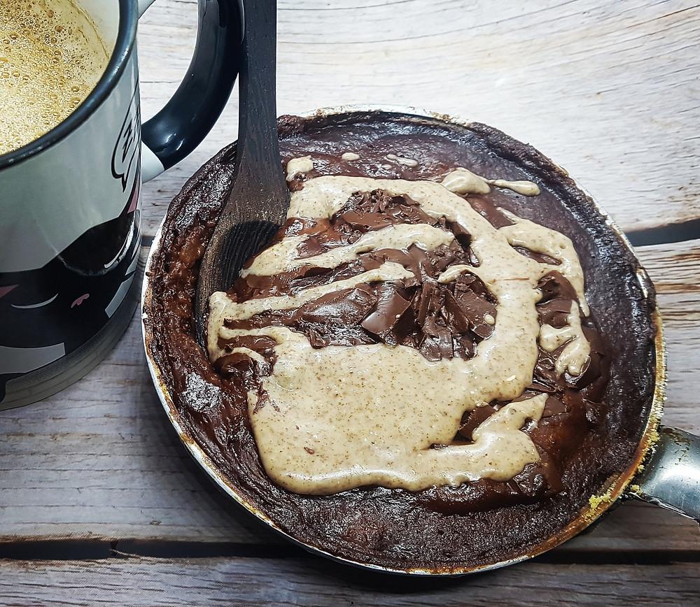fondant poele chocolat amande sans lait sans plv