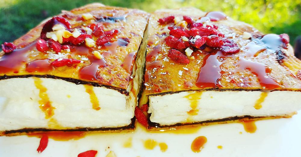Omelette nuage petit déjeuner protéiné