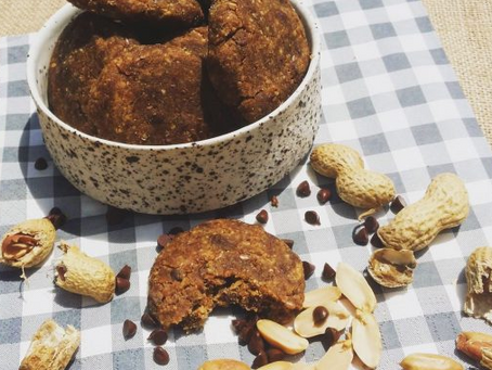 Cookies au beurre de cacahuète (sans cuisson)
