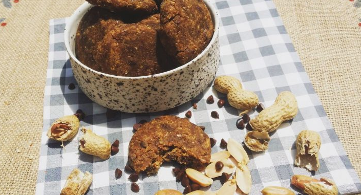 cookies beurre de cacahuète chocolat vegan rawfood alimentation vivante