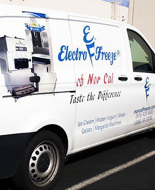 Electro Freeze of Norcal equipment soft serve machines ice cream shakes gelato margarita slush for sale