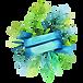 Badge Floral 4