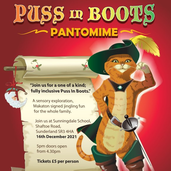 Puss in Boots Panto
