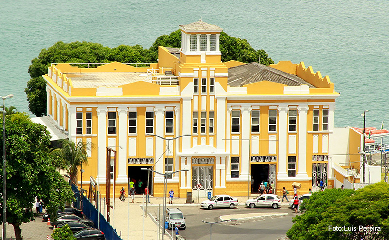 Terminal onde sai o Catamarã para Morro de SP