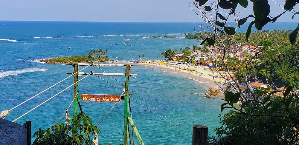 Morro de sp - Vista das praias