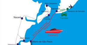 Como ir para Morro de São Paulo saindo de Salvador e outras localidades