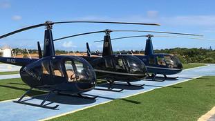 Helicoptero em Salvador Bahia