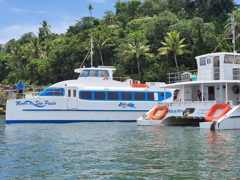 Catamarã Salvador Morro sp