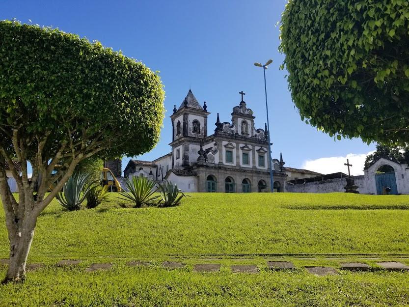 Convento na cidade de Cairu