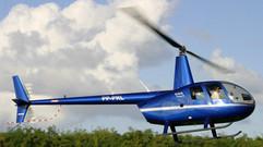 Helicoptero chegando em Salvador