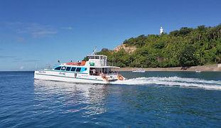 Nevegação do Catamarã para Salvador
