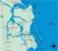 Mapa Arquipelago de Tinharé