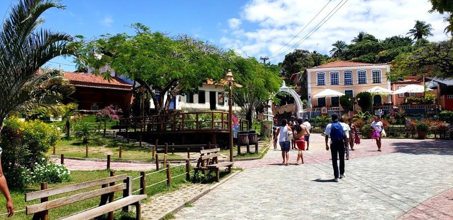 A Vila do Morro de São Paulo