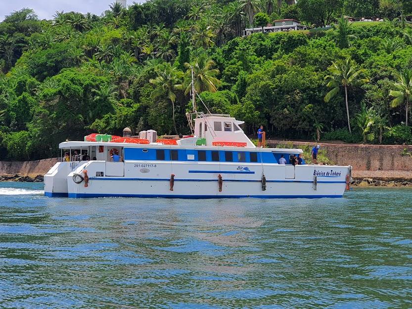 Catamarã Biônica de Tinharé