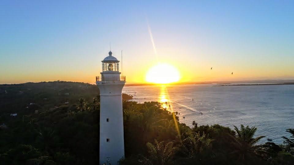 Farol do Morro de São Paulo: Um dos pontos turísticos imperdíveis!