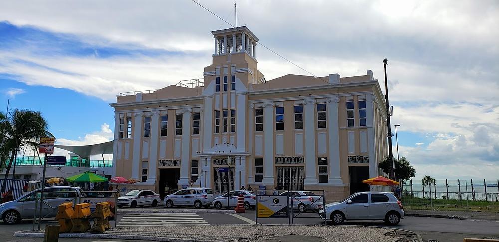 Terminal Turístico Náutico de Salvador - Onde sai o catamarã para Morro