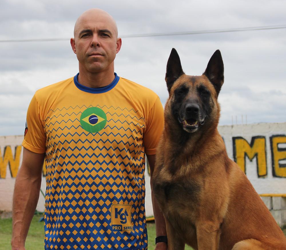 Marcel no Campeonato do Mundo de Mondioring de 2019 na Polonia