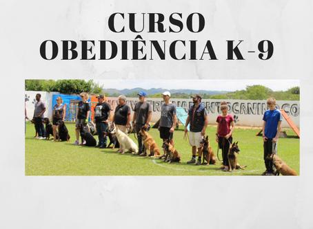 Curso de Obediência K-9