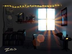Zel Room Illustration