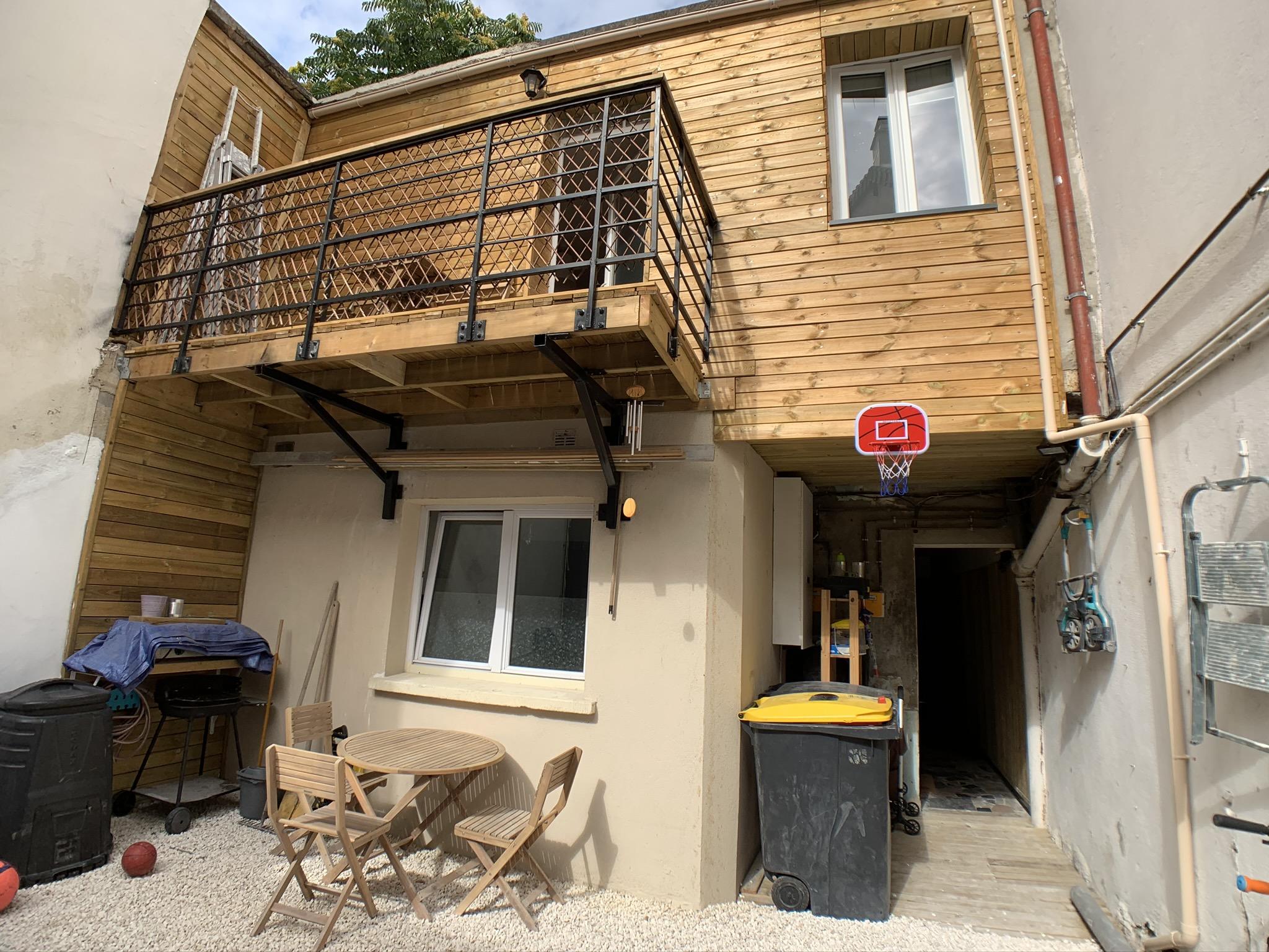Maison côté cour - Saint Ouen