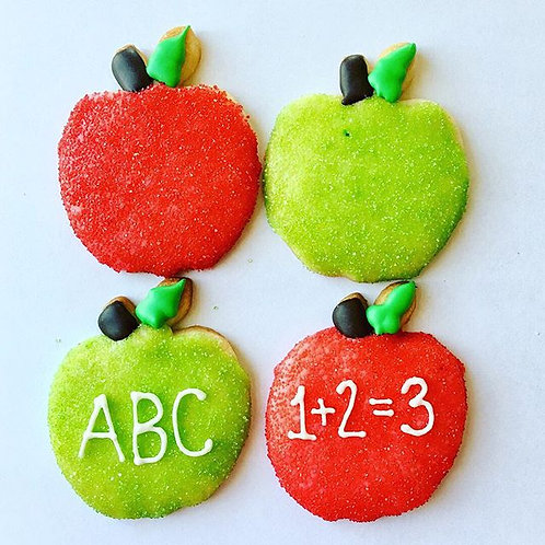 Apple Cookies for Teacher