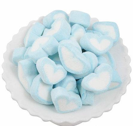 Heart Marshmallow - Blue 1kg