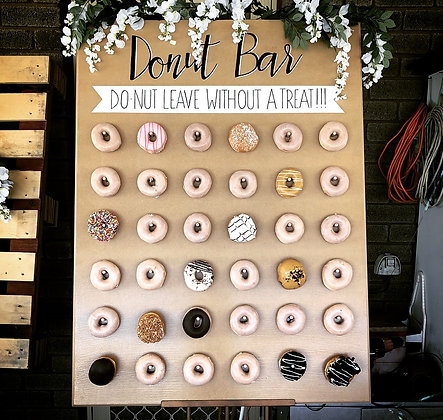 Donut Board/Bar