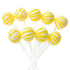 Lollipop - Yellow 1kg