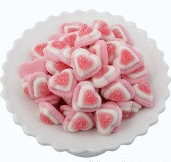 Sour Hearts - Pink/Red 1kg