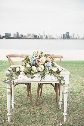Bridal Table Silk Floral Arrangement