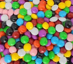 Choc Buttons - Multicolour 1kg