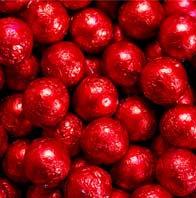 Foiled Gumballs - Red 1kg