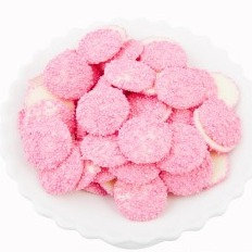 White Chocolate Freckles - Pink 1kg