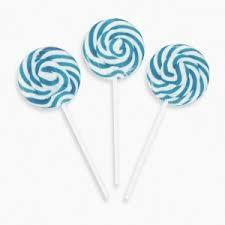 Lollipop Swirl - Blue 50 x 15g