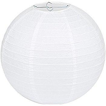35cm White Paper Lantern