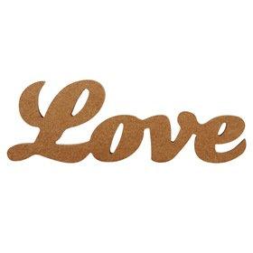 Decorative Natural Love Word