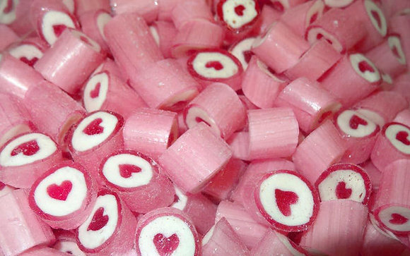 Rock Candy - Pink 1kg