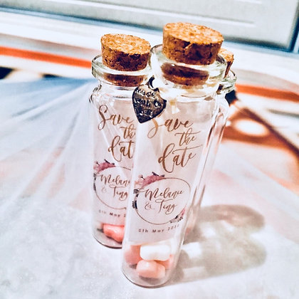 Mini Cork Bottles