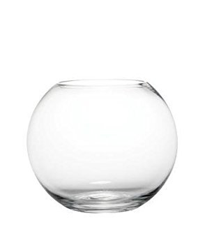 Fish bowl vase (glass)