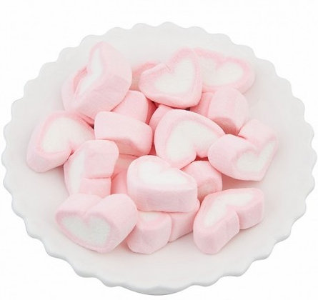 Heart Marshmallow - Pink 1kg