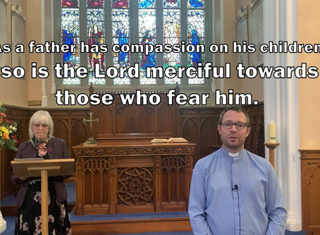 Morning Worship, Sunday 13th September