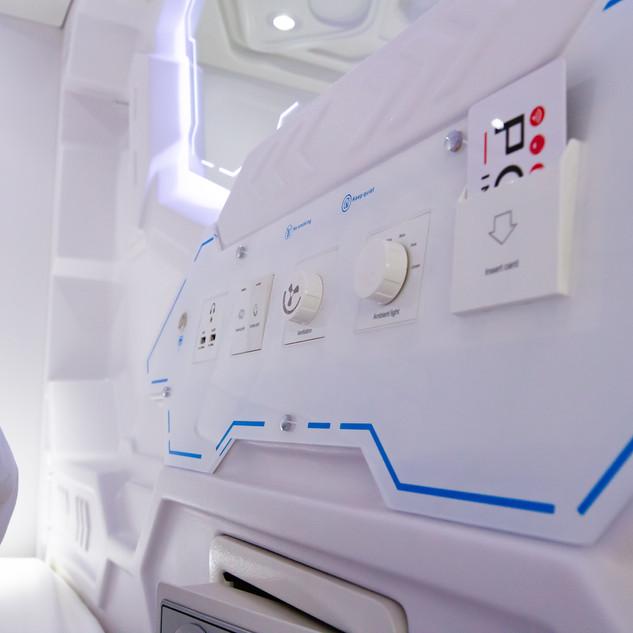 capsule bed internal