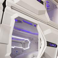 side entrance capsule bed
