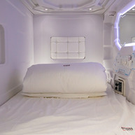 front entrance capsule bed